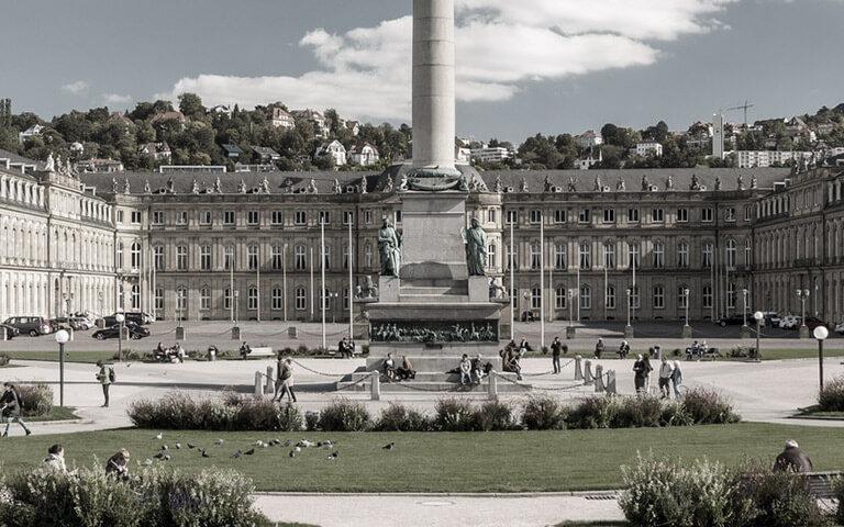 Stuttgart in seiner vollen Pracht